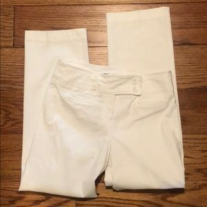 Ladies white pants